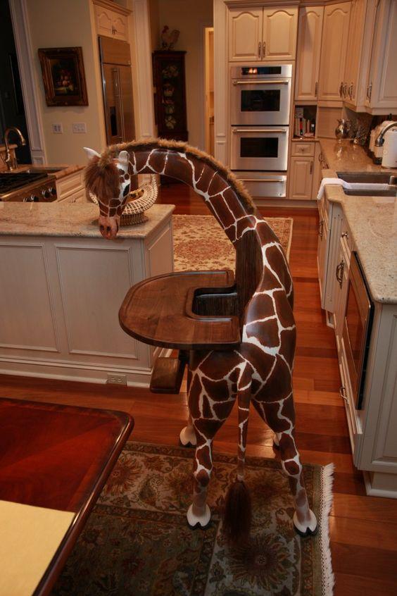 custom animal high chair