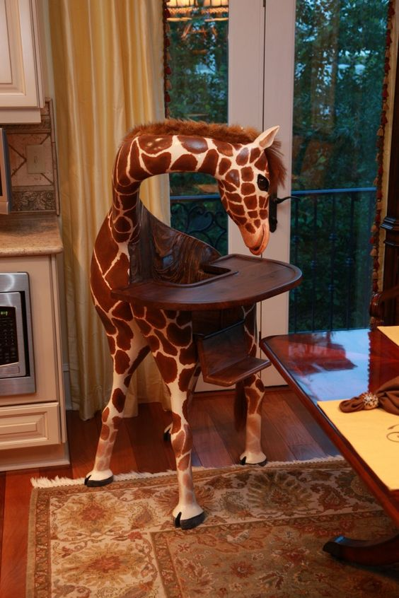 Coolest High Chair Ever