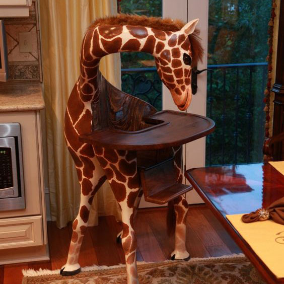 Giraffe High Chair