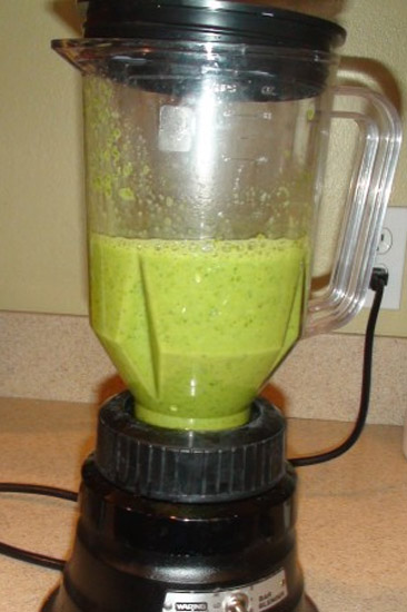 A Yummy, Healthy Smoothie Full of Veggies