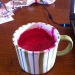 Beet Juice with Apples and Carrots