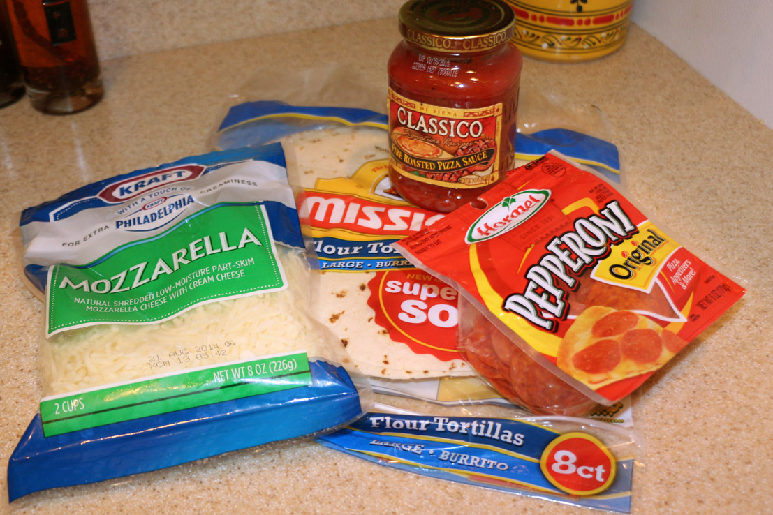pizzadilla ingredients