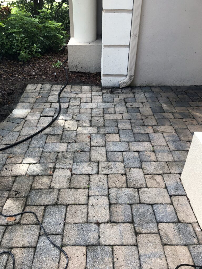 Brick Pavers - After