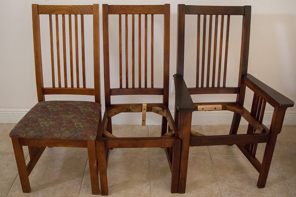 Three Chairs - Java Gel Stain