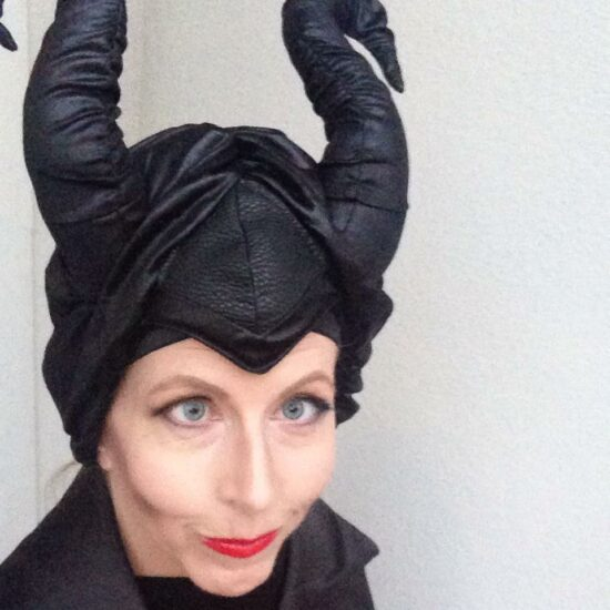 Maleficent Costume and Makeup