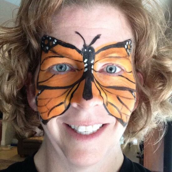 Monarch Butterfly Makeup