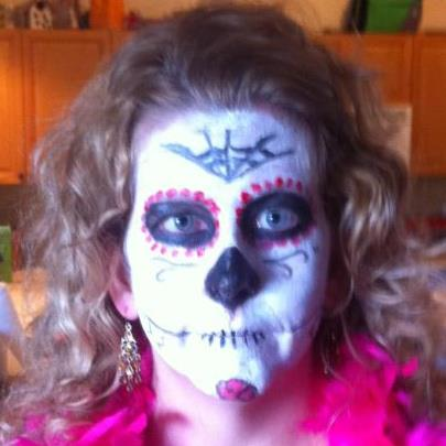 Sugar Skull Costume / Makeup