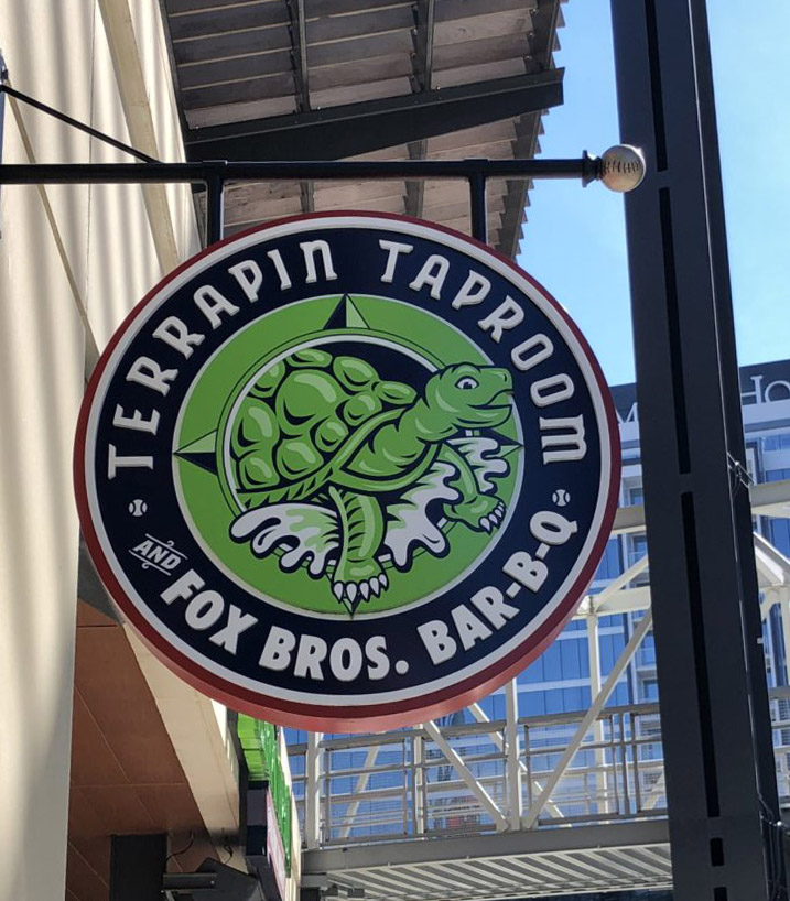 Terrapin Taproom sign