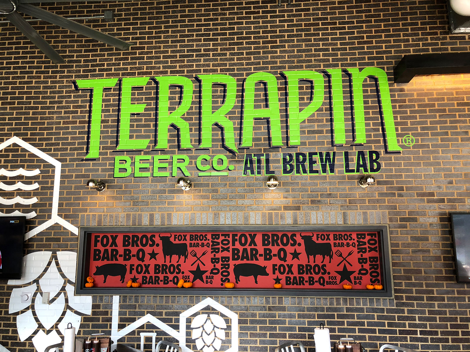 Fox Bros. BBQ / Terrapin Taproom