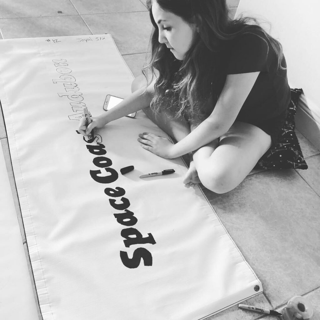 Designing Upcycled Vinyl Banners