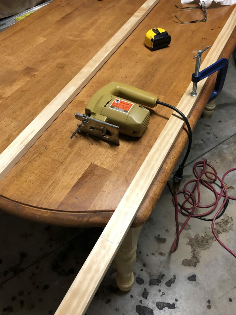 Furring Strips and Jgsaw