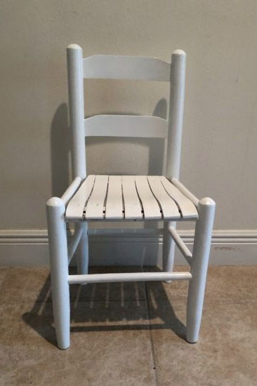 chair paint makeover
