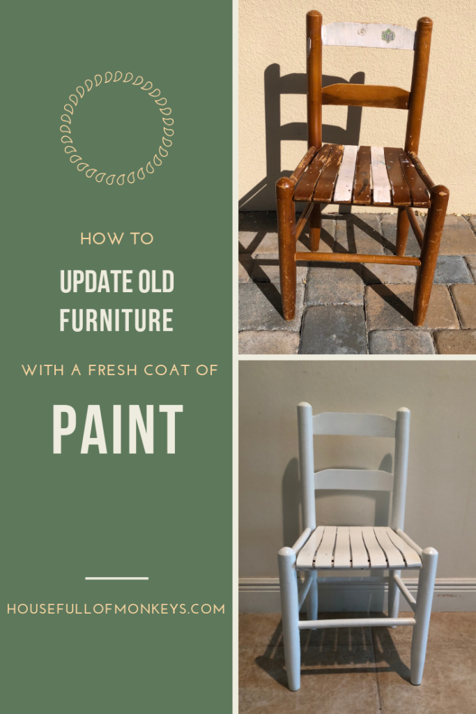 How to Update Old Furniture with a New Coat of Paint