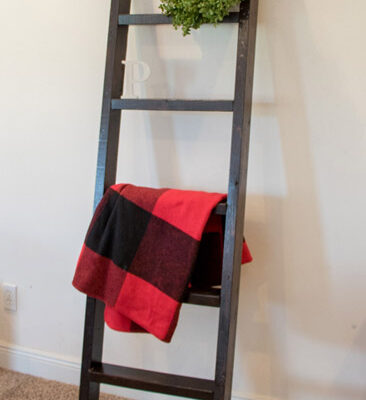 How to Build a Blanket Ladder Even if You're New to Woodworking