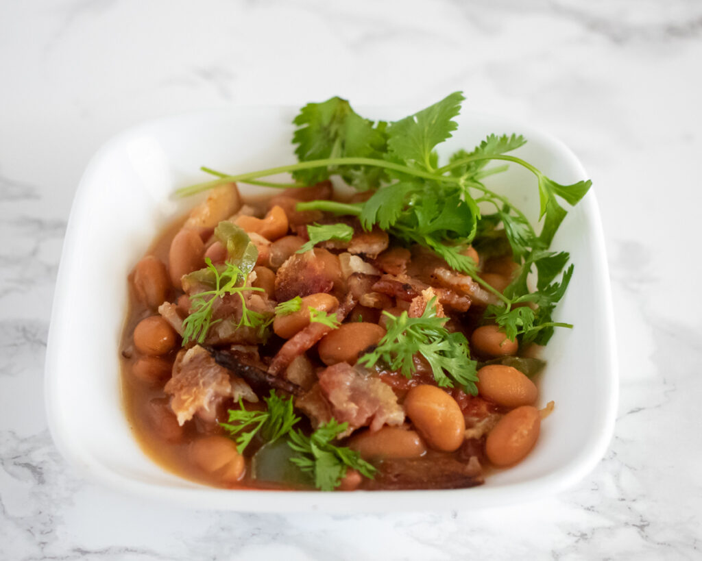 Lupe Tortilla's Charro Beans Recipe