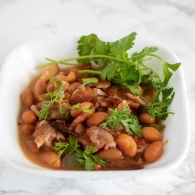 Lupe Tortilla's Charro Beans Copycat Recipe