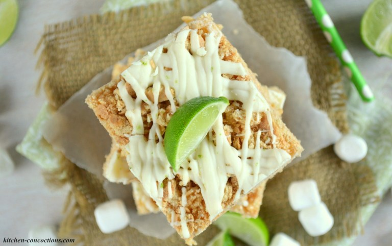 key lime rice krispies